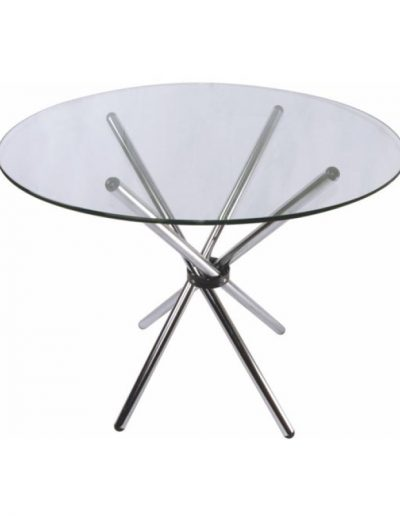 Café chopstix glass table