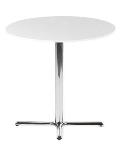 Café round table (white)