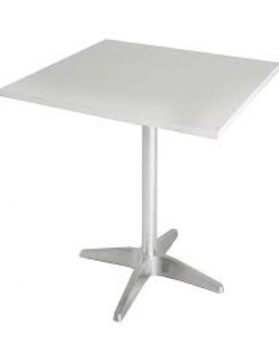 Café square table (white)