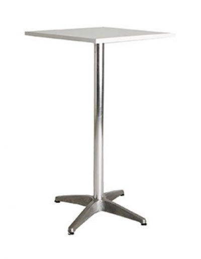 Cocktail square table (white)