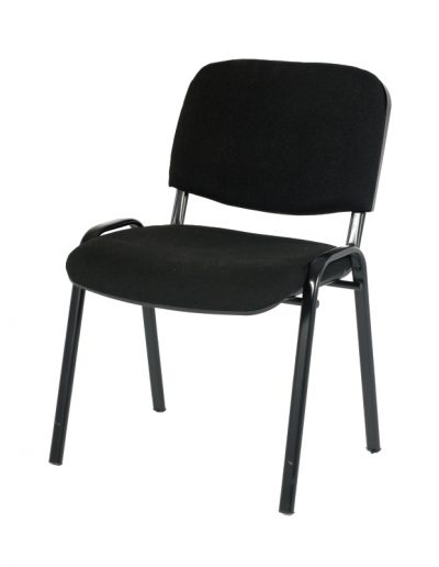 Conference café chair (black)
