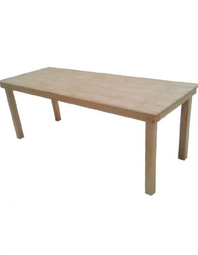 Natural garden table