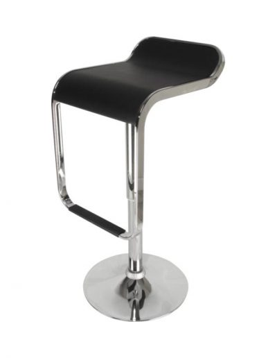 Waterfall barstool (black)
