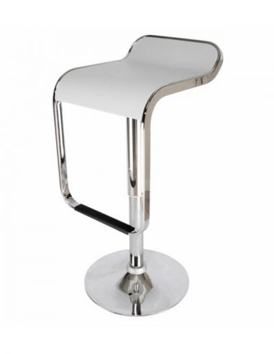 Waterfall barstool (white)
